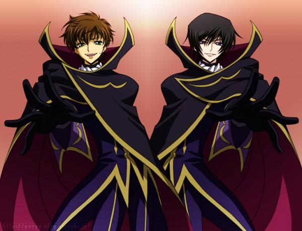 Tags: Anime, CODE GEASS: Hangyaku no Lelouch, Zero2, Lelouch Lamperouge, Kururugi Suzaku, Artist Request, Code Geass: Lelouch Of The Rebellion
