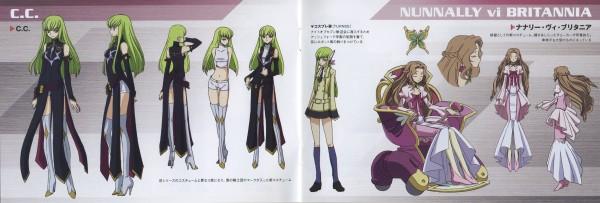 Tags: Anime, CODE GEASS: Hangyaku no Lelouch, Nunnally Lamperouge, C.C., Twitter Header, Code Geass: Lelouch Of The Rebellion