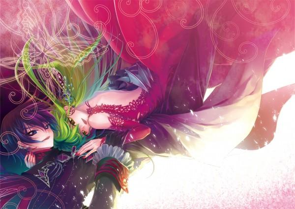 Tags: Anime, Minami (Apricot Tea), CODE GEASS: Hangyaku no Lelouch, Lelouch Lamperouge, C.C., Code Geass: Lelouch Of The Rebellion