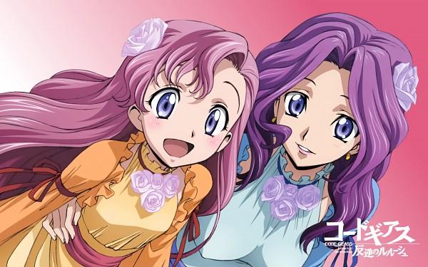 Tags: Anime, CODE GEASS: Hangyaku no Lelouch, Cornelia li Britannia, Euphemia li Britannia, Wallpaper, Official Wallpaper, Code Geass: Lelouch Of The Rebellion