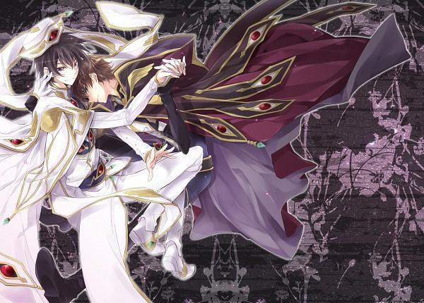 Tags: Anime, Kiduvi, CODE GEASS: Hangyaku no Lelouch, Kururugi Suzaku, Lelouch Lamperouge, Emperor, Fanart, Pixiv, Suzalulu, Code Geass: Lelouch Of The Rebellion