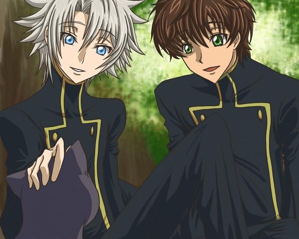 Tags: Anime, CODE GEASS: Hangyaku no Lelouch, Rai (Code Geass), Kururugi Suzaku, Code Geass: Lelouch Of The Rebellion