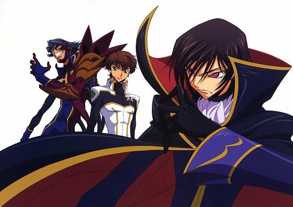 Tags: Anime, Sakamoto Shuuji, CODE GEASS: Hangyaku no Lelouch, Geass Symbol, Official Art, Scan, Code Geass: Lelouch Of The Rebellion