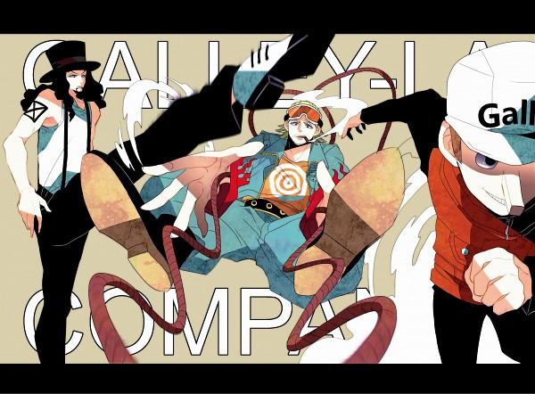 Tags: Anime, Tmtmttm, ONE PIECE, Rob Lucci, Paulie, Kaku, Pixiv, Fanart, CP9