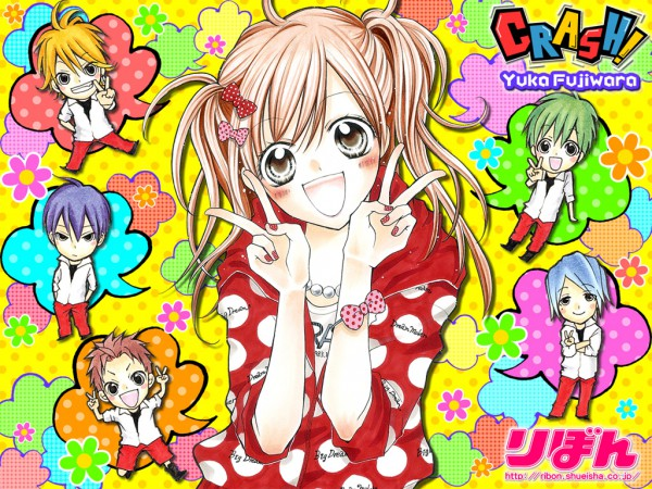 Tags: Anime, Fujiwara Yuka, CRASH!, Shinozuka Rei, Kurose Kiri, Aoyagi Yugo, Shiraboshi Hana, Midorikawa Kazuhiko, Akamatsu Junpei, Wallpaper