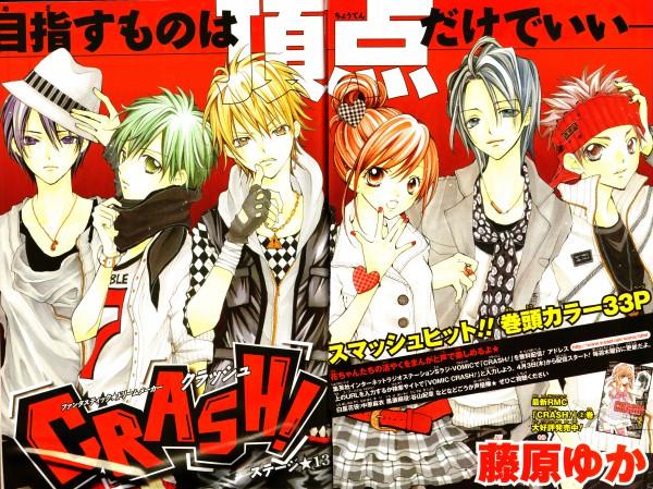 Tags: Anime, Fujiwara Yuka, CRASH!, Aoyagi Yugo, Shiraboshi Hana, Midorikawa Kazuhiko, Akamatsu Junpei, Shinozuka Rei, Kurose Kiri, Self Scanned