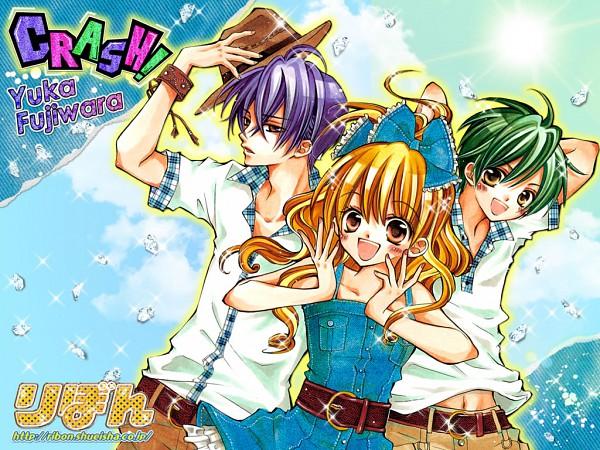 Tags: Anime, Fujiwara Yuka, CRASH!, Shinozuka Rei, Shiraboshi Hana, Midorikawa Kazuhiko, Wallpaper