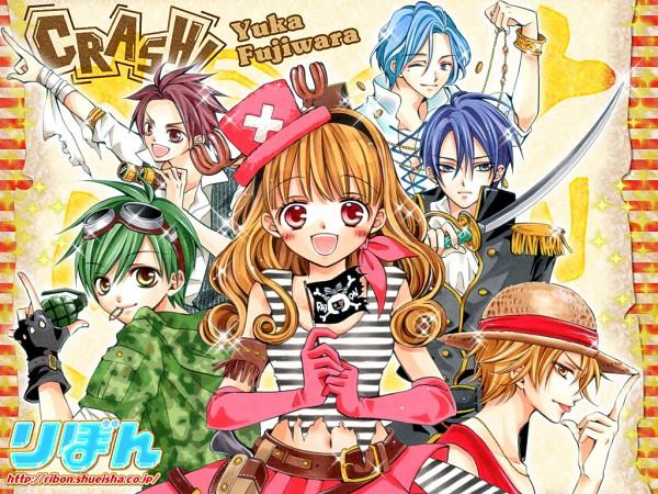 Tags: Anime, Fujiwara Yuka, CRASH!, Kurose Kiri, Aoyagi Yugo, Shiraboshi Hana, Midorikawa Kazuhiko, Akamatsu Junpei, Shinozuka Rei, Chopper Hat