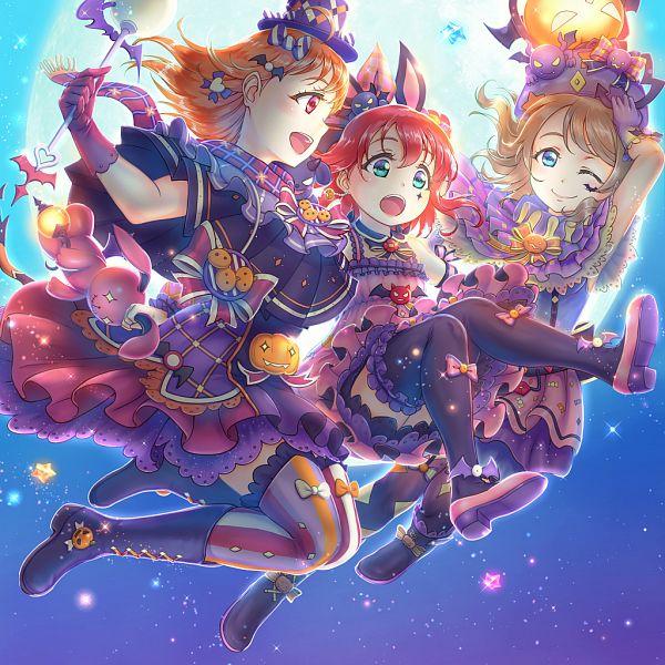 Tags: Anime, Pixiv Id 4022254, Love Live! Sunshine!!, Kurosawa Ruby, Watanabe You, Takami Chika, CYaRon!