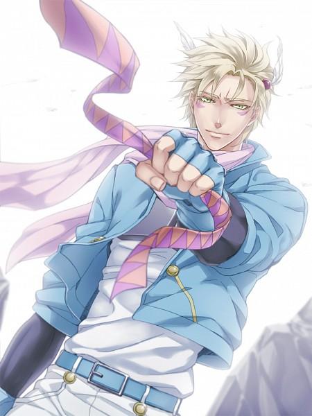 Tags: Anime, Becco, JoJo no Kimyou na Bouken, Battle Tendency, Caesar Anthonio Zeppeli, Fanart