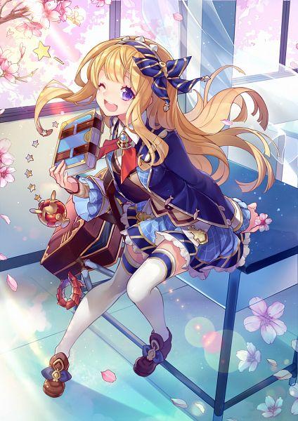 Tags: Anime, Pixiv Id 2227660, Granblue Fantasy, Ouroboros (Granblue Fantasy), Cagliostro (Granblue Fantasy), Mobile Wallpaper