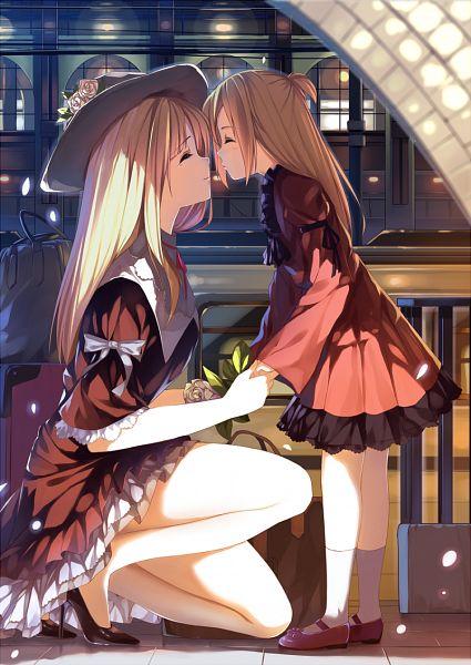 Tags: Anime, Caidychen, Fanart, Pixiv, Original