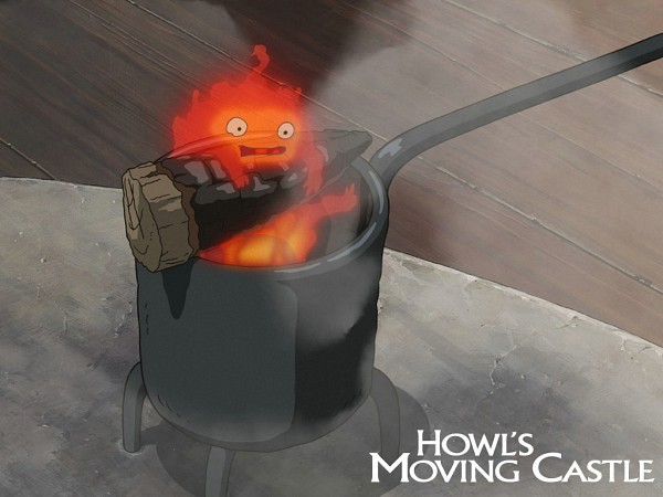 Calcifer - Howl no Ugoku Shiro