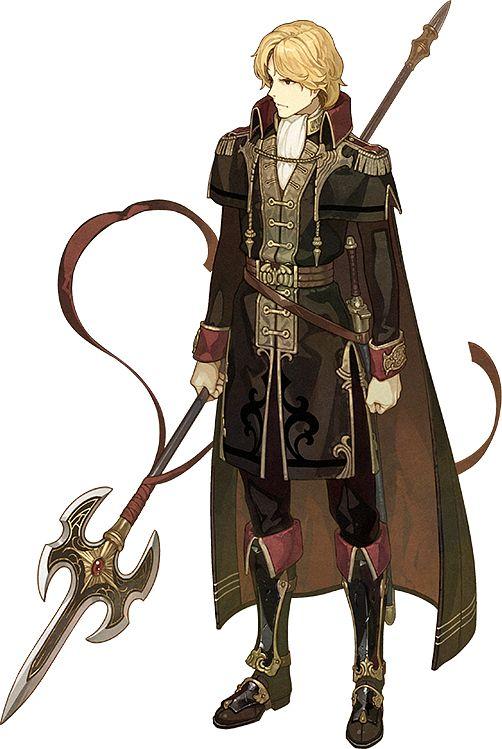 Camus (Fire Emblem) - Fire Emblem: Monshou no Nazo