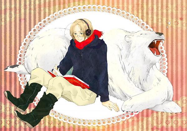 Tags: Anime, Axis Powers: Hetalia, Kumajirou, Canada, Polar Bear