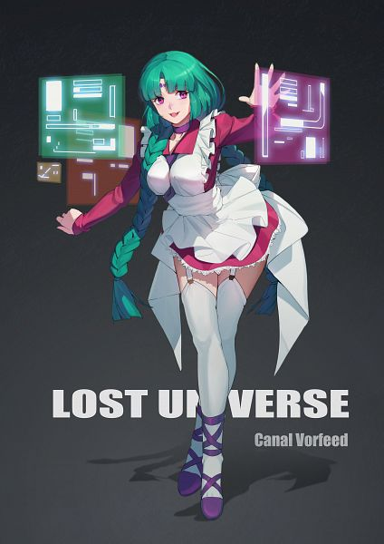 Tags: Anime, Pixiv Id 5608177, Lost Universe, Canal Volphied, Pixiv, Fanart, Fanart From Pixiv