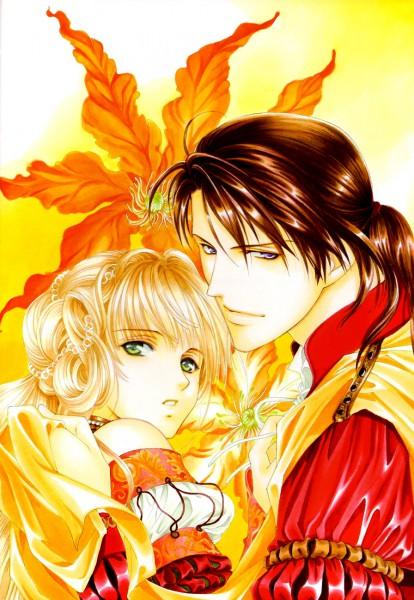Tags: Anime, Yuu Higuri, Cantarella (Manga), Lucrezia Borgia, Cesare Borgia (Cantarella), Official Art