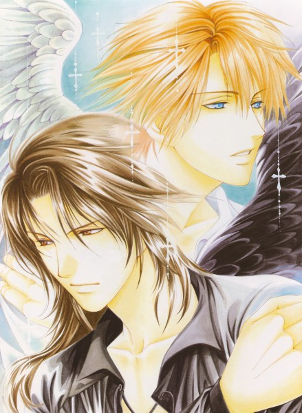 Tags: Anime, Yuu Higuri, Cantarella (Manga), Chiaro Michelotto, Cesare Borgia (Cantarella), Official Art
