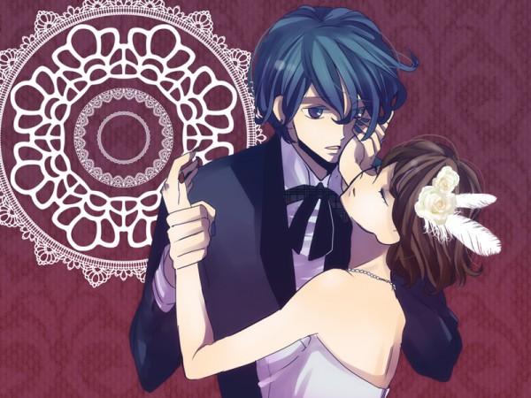 Tags: Anime, VOCALOID, KAITO, MEIKO (VOCALOID), Cantarella (Song)