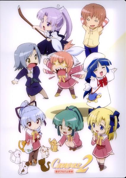 Tags: Anime, ZEXCS, F&C, Canvas 2: Akane Iro no Palette, Saginomiya Saya, Hagino Kana, Takeuchi Mami, Housen Elis, Misaki Sumire, Kikyou Kiri, Sugihara Shie, Fujinami Tomoko, Official Art