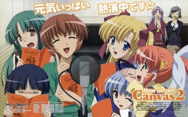 Tags: Anime, Nitta Yasunari, F&C, ZEXCS, Canvas 2: Akane Iro no Palette, Fujinami Tomoko, Saginomiya Saya, Hagino Kana, Takeuchi Mami, Housen Elis, Misaki Sumire, Sugihara Shie, Kikyou Kiri