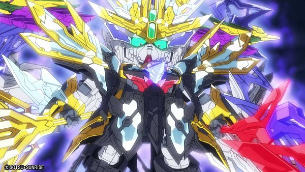 Tags: Anime, Sunrise (Studio), SD Gundam World Sangoku Soketsuden, Cao Cao Wing Gundam, Twitter, Wallpaper, Official Art, HD Wallpaper, Screenshot, Gundams