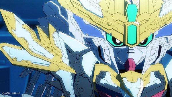Tags: Anime, Sunrise (Studio), SD Gundam World Sangoku Soketsuden, Cao Cao Wing Gundam, HD Wallpaper, Screenshot, Twitter, Wallpaper, Official Art, Gundams