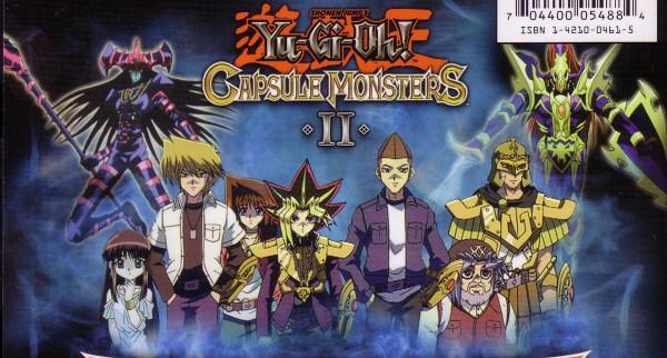 Tags: Anime, Takahashi Kazuki, Studio Gallop, Capsule Monsters, Yu-Gi-Oh! Duel Monsters, Yu-Gi-Oh!, Black Luster Soldier, Jounouchi Katsuya, Honda Hiroto, Yami Yugi, Mazaki Anzu, Dark Magician of Chaos, Mutou Sugoroku