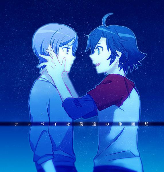 Tags: Anime, Aki (Pixiv560597), Captain Earth, Arashi Teppei, Manatsu Daichi