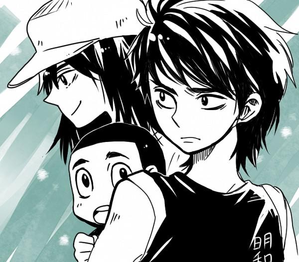 Tags: Anime, Pixiv Id 2024230, Captain Tsubasa, Sawada Takeshi, Wakashimazu Ken, Hyuuga Kojirou, Toho (Character Group)