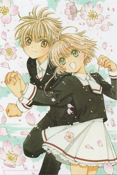 Tags: Anime, CLAMP, Cardcaptor Sakura, Cardcaptor Sakura: Clear Card-hen, Kinomoto Sakura, Li Syaoran, Official Art