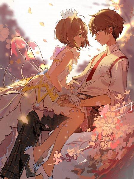 Tags: Anime, Pixiv Id 5407701, Cardcaptor Sakura, Cardcaptor Sakura: Clear Card-hen, Kinomoto Sakura, Li Syaoran, Pixiv, Fanart, Fanart From Pixiv