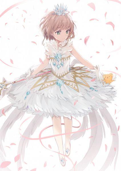 Tags: Anime, Dangmill, Cardcaptor Sakura, Cardcaptor Sakura: Clear Card-hen, Kero-chan, Kinomoto Sakura, Fanart From Pixiv, Pixiv, Revision, Fanart