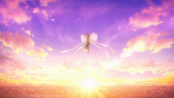 Tags: Anime, Cardcaptor Sakura: Clear Card-hen, Cardcaptor Sakura, Kinomoto Sakura, Li Syaoran, 1600x900 Wallpaper, Wallpaper, Official Art, Screenshot