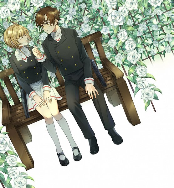 Tags: Anime, Pixiv Id 20552609, Cardcaptor Sakura, Cardcaptor Sakura: Clear Card-hen, Kinomoto Sakura, Li Syaoran