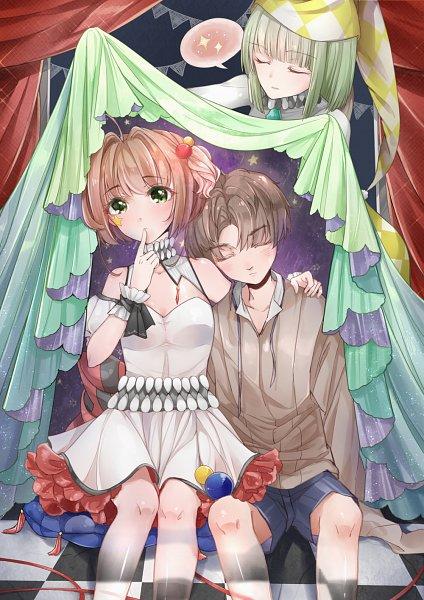 Tags: Anime, Pixiv Id 15034125, Cardcaptor Sakura, Cardcaptor Sakura: Clear Card-hen, Kinomoto Sakura, Li Syaoran, Fanart, Fanart From Pixiv, Pixiv