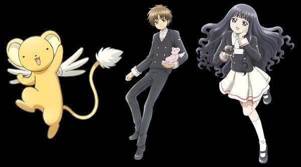 Tags: Anime, Monstar Lab, Cardcaptor Sakura: Clear Card-hen, Cardcaptor Sakura, Cardcaptor Sakura: Happiness Memories, Kero-chan, Daidouji Tomoyo, Li Syaoran, Video Camera, Official Art, Edited