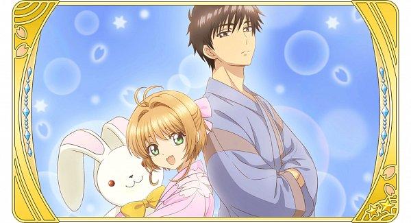 Tags: Anime, Monstar Lab, Cardcaptor Sakura, Cardcaptor Sakura: Happiness Memories, Kinomoto Touya, Kinomoto Sakura, Official Card Illustration, Official Art