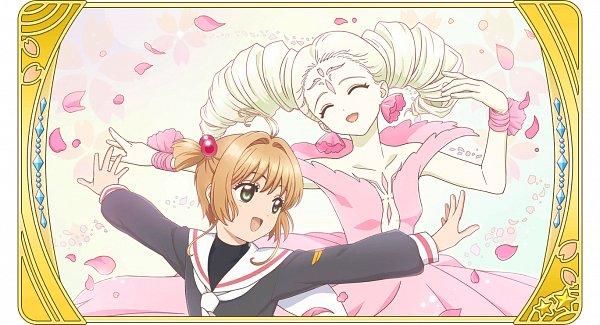 Tags: Anime, Monstar Lab, Cardcaptor Sakura, Cardcaptor Sakura: Happiness Memories, Flower Card, Kinomoto Sakura, Clow Cards, Official Card Illustration, Official Art