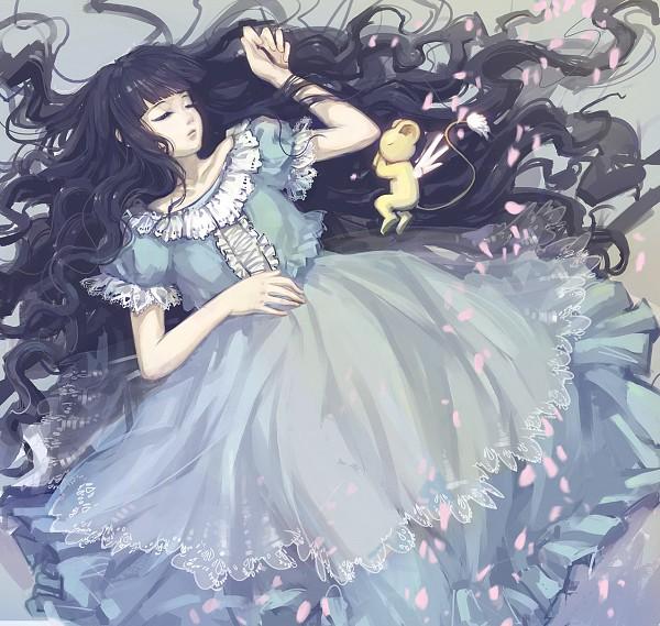 Tags: Anime, Pixiv Id 10477294, Cardcaptor Sakura, Kero-chan, Daidouji Tomoyo, Pixiv, Fanart, Fanart From Pixiv