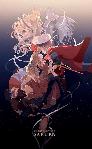 Tags: Anime, Okazaki Oka, Cardcaptor Sakura, Kinomoto Sakura, Li Syaoran, Pixiv, Fanart From Pixiv, PNG Conversion, Fanart, Character Request, Mobile Wallpaper