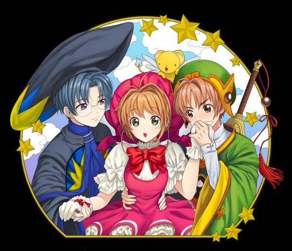 Tags: Anime, Cardcaptor Sakura, Kinomoto Sakura, Li Syaoran, Kero-chan, Hiiragizawa Eriol