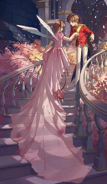 Tags: Anime, C P .Ieng, Cardcaptor Sakura, Kinomoto Sakura, Li Syaoran