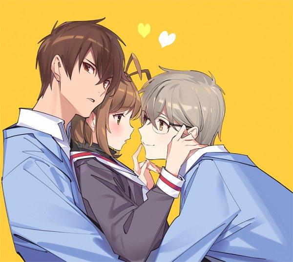 Tags: Anime, Pop Kyun (POPQN), Cardcaptor Sakura, Tsukishiro Yukito, Kinomoto Touya, Kinomoto Sakura