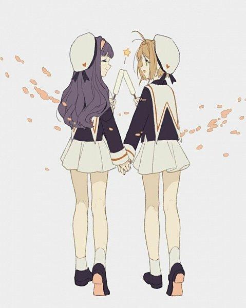 Tags: Anime, Pixiv Id 7158819, Cardcaptor Sakura, Daidouji Tomoyo, Kinomoto Sakura