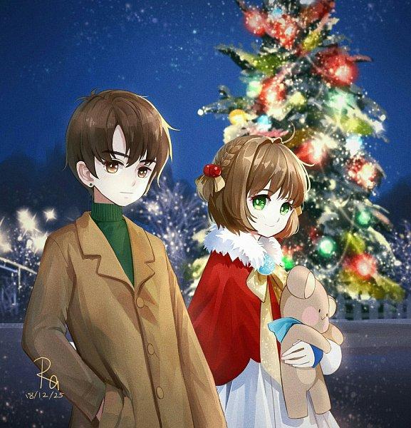 Tags: Anime, Pixiv Id 12162178, Cardcaptor Sakura, Kinomoto Sakura, Li Syaoran