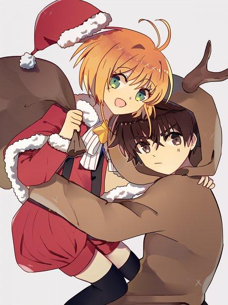 Tags: Anime, Pixiv Id 5775823, Cardcaptor Sakura, Kinomoto Sakura, Li Syaoran