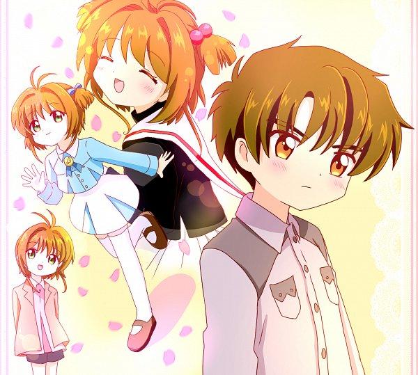 Tags: Anime, Pixiv Id 36881996, Cardcaptor Sakura, Kinomoto Sakura, Li Syaoran, Fanart, Fanart From Pixiv, Pixiv