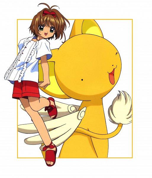 Tags: Anime, MADHOUSE, Cardcaptor Sakura, Cheerio! 2, Kero-chan, Kinomoto Sakura, Kerberos, Otaku, Scan, Official Art