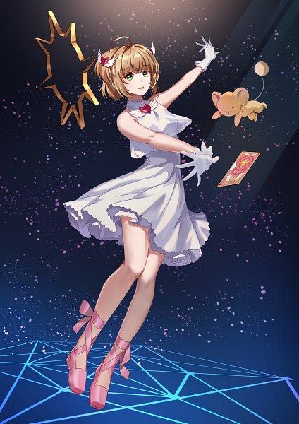 Tags: Anime, Pixiv Id 13617037, Cardcaptor Sakura, Kero-chan, Kinomoto Sakura